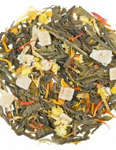 Grüner Tee - Tropenblüten