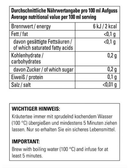 Kräutertee - Naturgeheimnis / Honeybusch