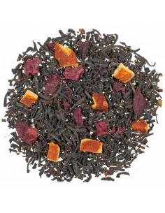 Schwarzer Tee - Sizilianische Blutorange Sanguinello