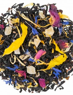 Schwarzer Tee - Sonnenblüten