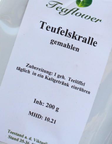 Teufelskralle gemahlen - 100 g