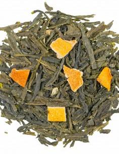 Bio Grüner Tee  - Orange