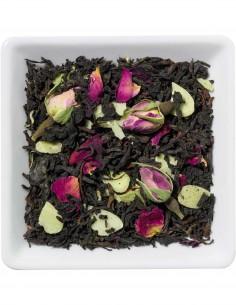 Schwarzer Tee - Rosenmarzipan