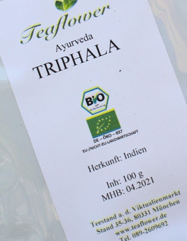 Triphala BIO - 100g / 8,50 €