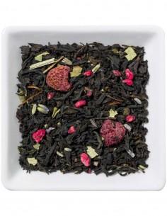 Schwarzer Tee - Himbeer-Lavendel