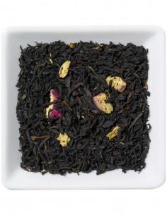 Schwarzer Tee - Rhabarber-Sahne