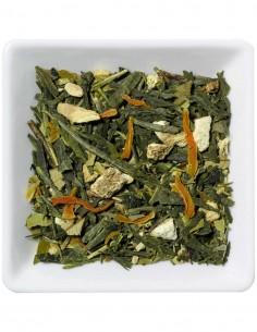 Bio Grüner Tee - Limette Ingwer Tee