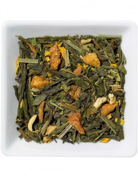 Grüner Tee - Orange Ingwer