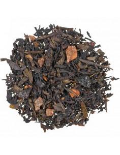 Schwarzer-Grüner Tee - Zimtpfläumchen